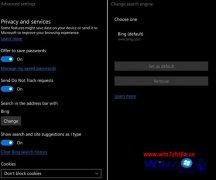 微软称win7 Mobile新版Edge浏览器将支持修改默认搜索引擎